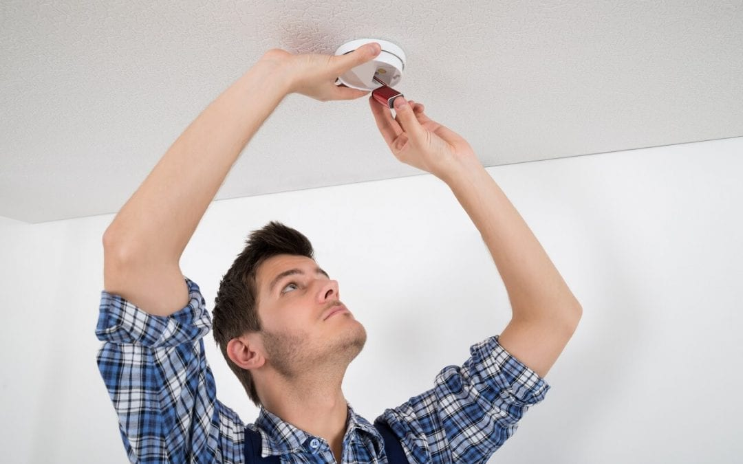 fire safety in the home begins with smoke detectors